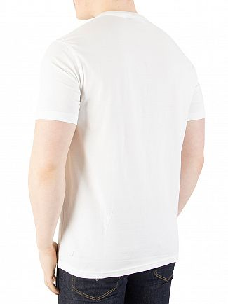 Fila Vintage White Eagle Logo T-Shirt