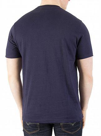 Fila Vintage Peacoat Eagle Logo T-Shirt