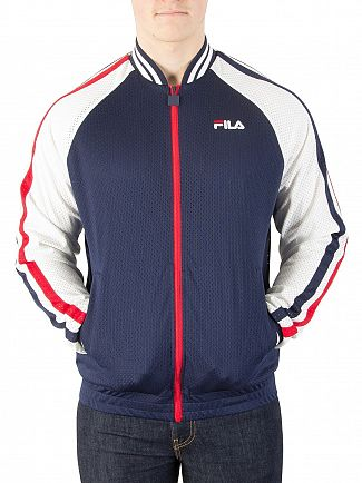Fila Vintage Peacoat/White/Chinese Red Lucas Track Jacket