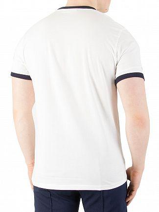 Fila Vintage White Marconi T-Shirt