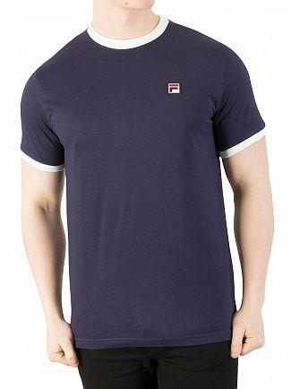 Fila Vintage Peacoat Marconi T-Shirt