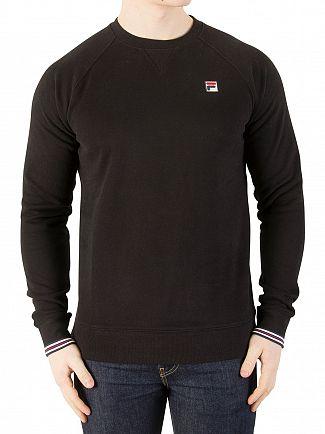 Fila Vintage Black Pozzi Sweatshirt