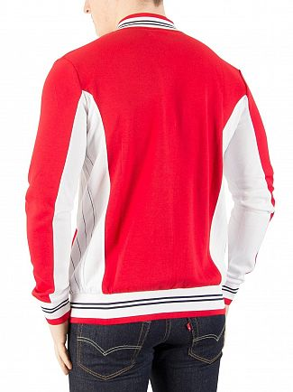 Fila Vintage Chinese Red Settanta Zip Track Jacket