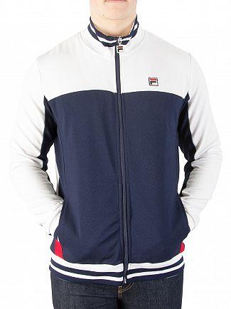 Fila Vintage White/Peacoat/Red Tiebreaker Track Jacket