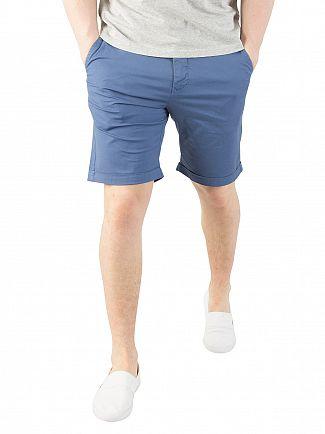 Gant Hurricane Blue Regular Sunbleached Shorts