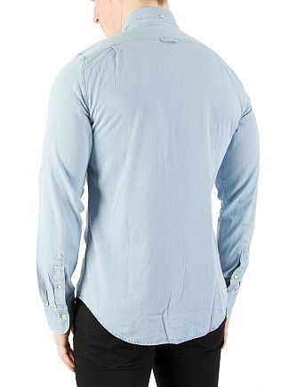 Gant Indigo Slim Fit Shirt