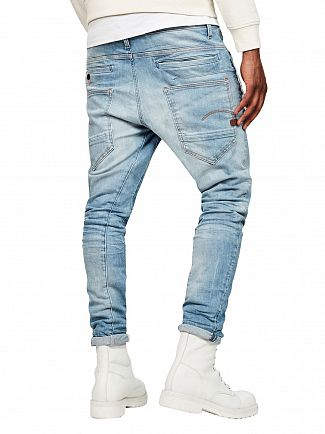 G-Star Light Indigo Aged D- Staq 3D Super Slim Jeans