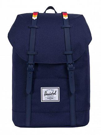 Herschel Supply Co Peacoat/Rain Retreat Backpack