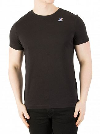 K-Way Black Le Vrai 3.0 Edouard T-Shirt