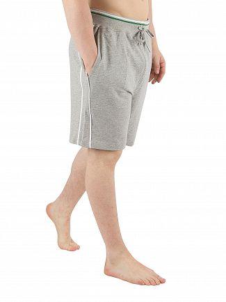 Lacoste Grey Melange Lounge Pyjama Shorts
