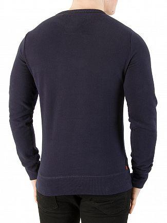 Superdry Marina Navy Vintage Logo Duo Sweatshirt