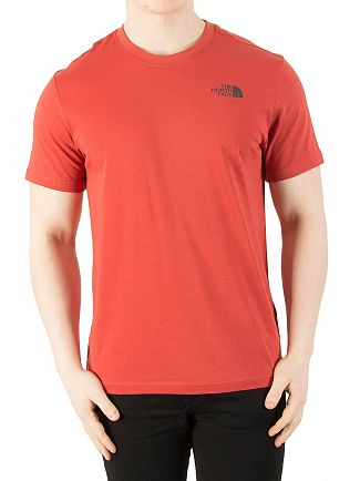 The North Face Bossa Nova Red Red Box T-Shirt