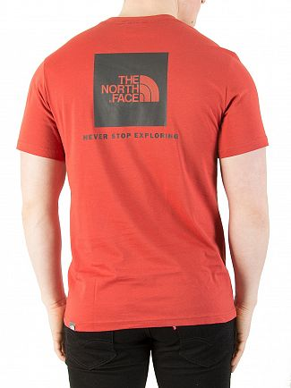 The North Face Bossa Nova Red Red Box T-Shirt