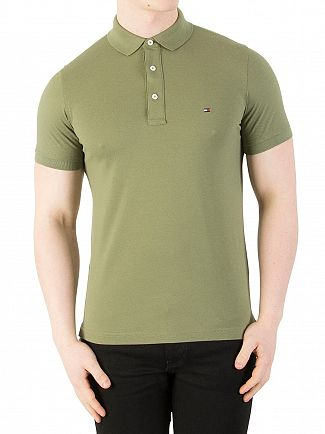 Tommy Hilfiger Four Leaf Clover Slim Fit Polo Shirt