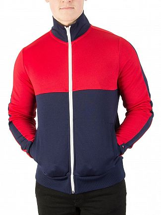 Tommy Hilfiger Navy Blazer/Multi Sporty Tech Zip Jacket