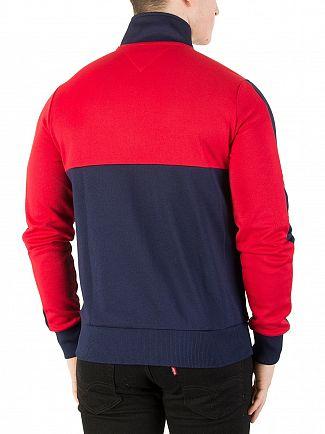 Tommy Hilfiger Navy Blazer/Multi Sporty Tech Zip Jacket
