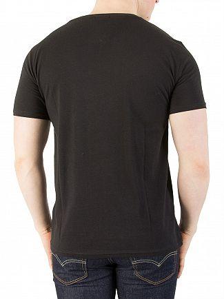 Tommy Jeans Tommy Black Original Jersey T-Shirt