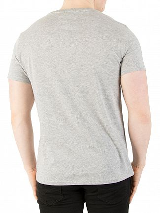 Tommy Jeans Light Grey Heather Original Jersey T-Shirt