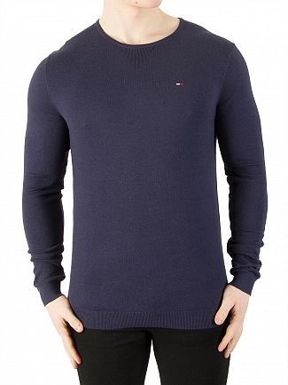Tommy Jeans Black Iris Original Knit