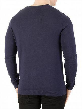 Tommy Jeans Black Iris Original Knit
