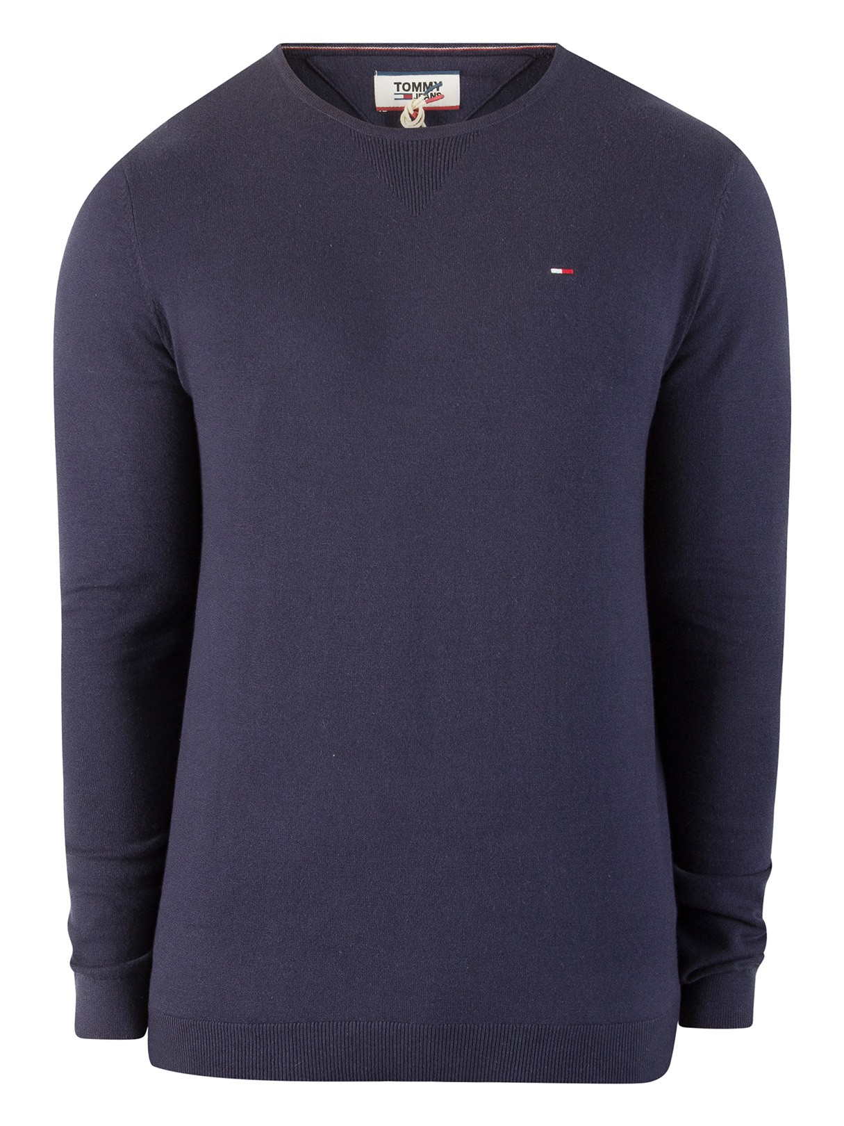 79a09f6666df3 Tommy Jeans Black Iris Original Knit