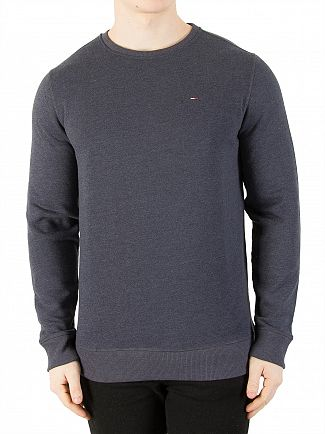 Tommy Jeans Black Iris Original Sweatshirt
