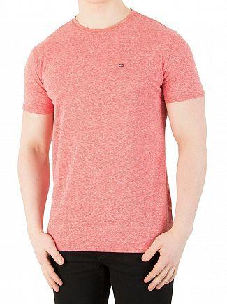 Tommy Jeans Formula One Original Triblend Marled T-Shirt