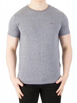 Tommy Jeans Black Iris Original Triblend Marled T-Shirt