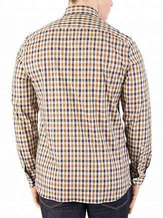Aquascutum Vicuna Club Check Shirt