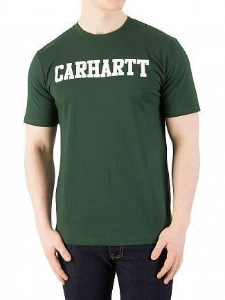 Carhartt WIP Tasmania/White College T-Shirt