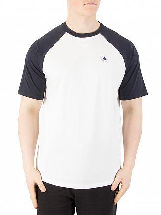 Converse Dark Obsidian Chuck Patch Raglan T-Shirt
