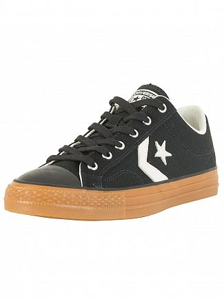 Converse Black/Egret/Honey Star Player Ox Trainers