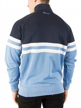 Ellesse Silver Lake Blue/Dress Blue Rimini Track Top