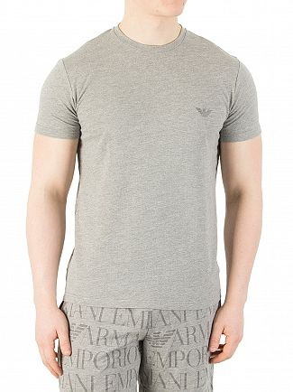 Emporio Armani Grey Back Logo T-Shirt