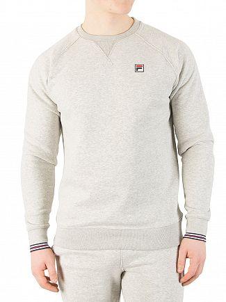 Fila Vintage Heather Grey/Heather Grey Pozzi Sweatshirt