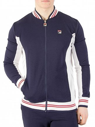 Fila Peacoat/White/Chinese Red Settanta Zip Track Jacket