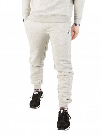 Fila Vintage Light Grey Marl Visconti 2 Slim Joggers