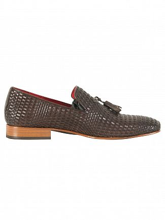 Jeffery West Pasado Dark Brown/Toledo Dark Brown Jung Leather Shoes