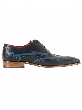 Jeffery West Tequila Dark Blue/Tequila Jeans Scarface Leather Shoes