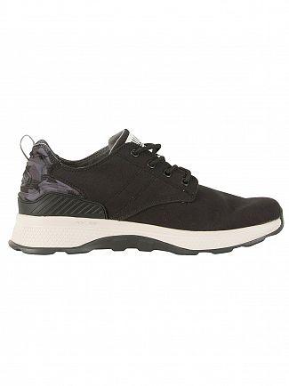 Palladium Black/Black/Camo Axeon Low Trainers