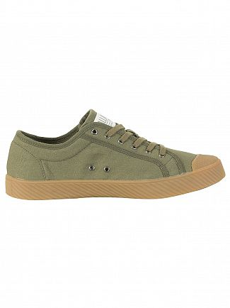 Palladium Olive Night PallaPhoenix O C U Trainers