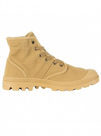 Palladium Woodlin/Honey Mustard Pallabrousse Boots