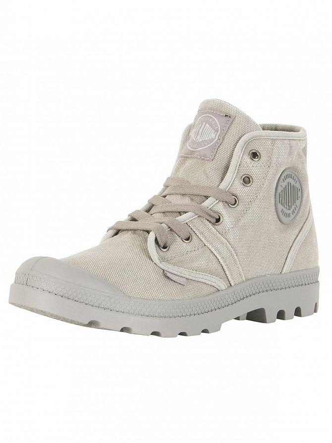 Palladium Titanium/High Rise Pallabrousse Boots