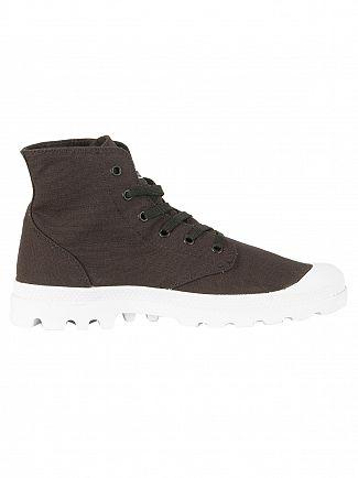 Palladium Black/White/White Pampa HI Blanc Boots