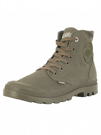 Palladium Olive Night Pampa HI Mono Boots
