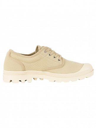 Palladium Sahara/Ecru Pampa OX Original Trainers
