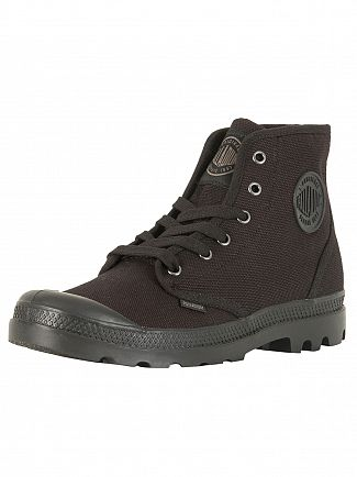 Palladium Black US Pampa HI Boots