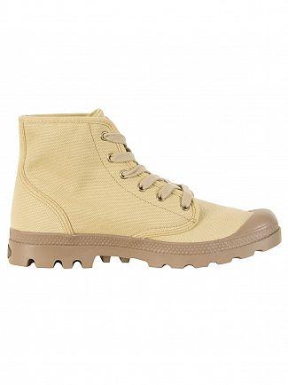 Palladium Stonewashed Dark Khaki US Pampa High Boots