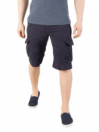 Superdry True Indigo Core Cargo Lite Shorts