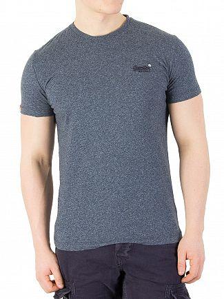 Superdry Deep Lagoon Grit Orange Label Vintage T-Shirt